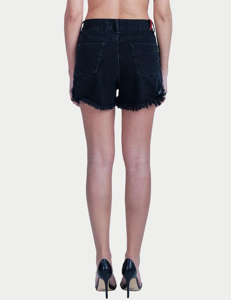 Σoρτς Annie Black S/W Buttons Salt & Pepper Jeans Co.