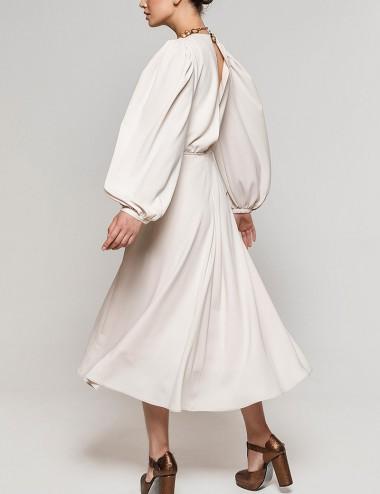 Φόρεμα μίντι κλος με άνοιγμα στην πλάτη ACCESS FASHION