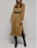 Φόρεμα σεμιζιέ με print