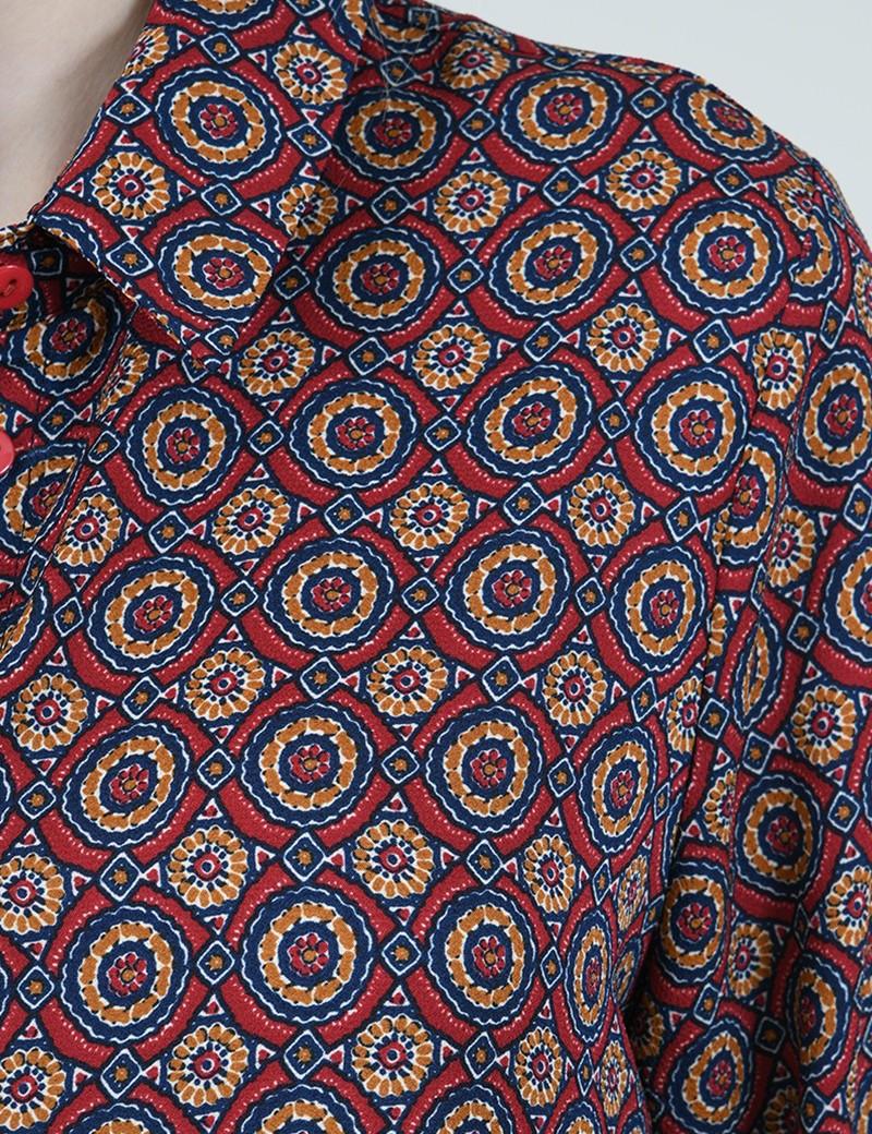 Φόρεμα με κουμπάκια MOLLY BRACKEN