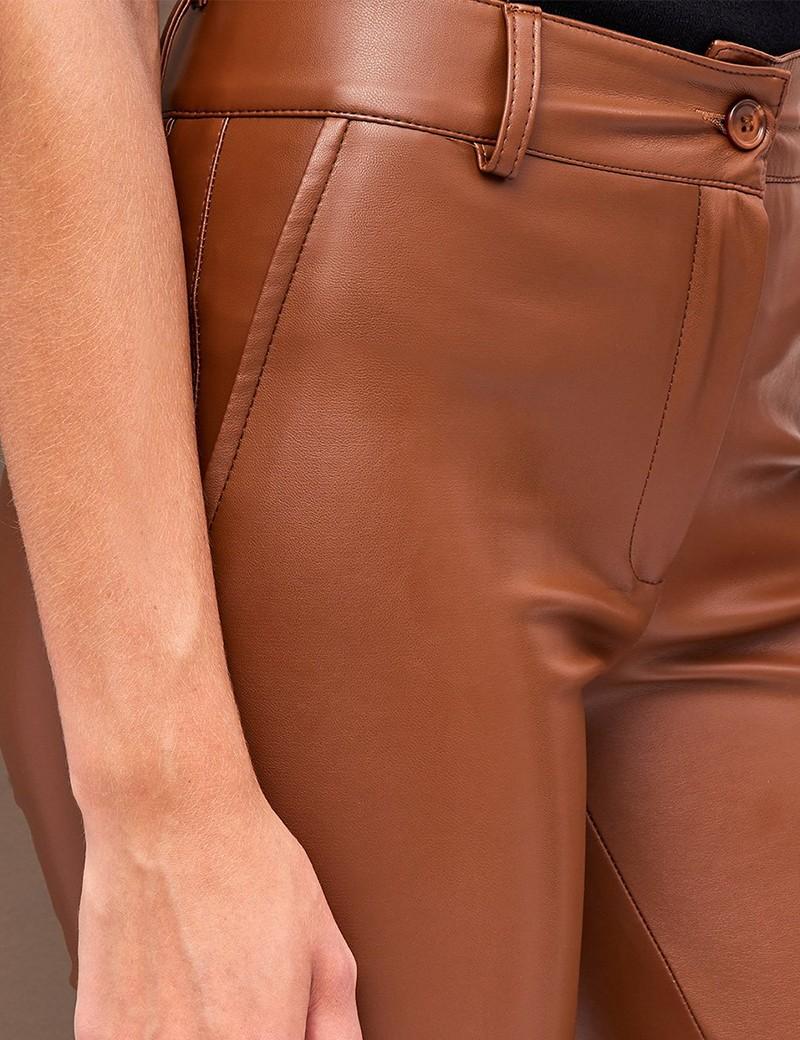 Παντελόνι ελαστικό από δερματίνη FOREL