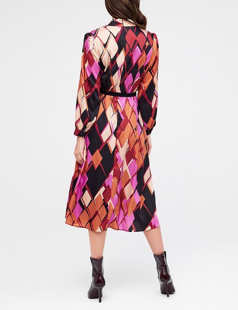 Φόρεμα με δέσιμο στο λαιμό FOREL