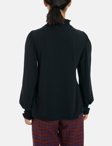 Μπλούζα με σφηκοφωλιά στο μανίκι COMPANIA FANTASTICA