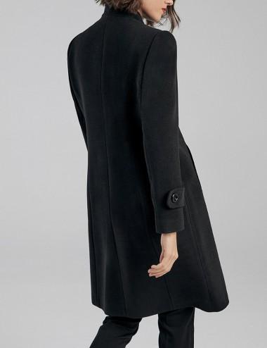 Παλτό βελούρ με όρθιο γιακά FOREL