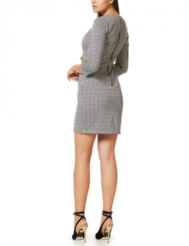 Φόρεμα πιε ντε κοκ ελαστικό ANGELO PSARROS