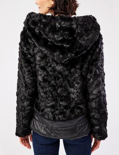 Μπουφάν κοντό με γούνα FOREL