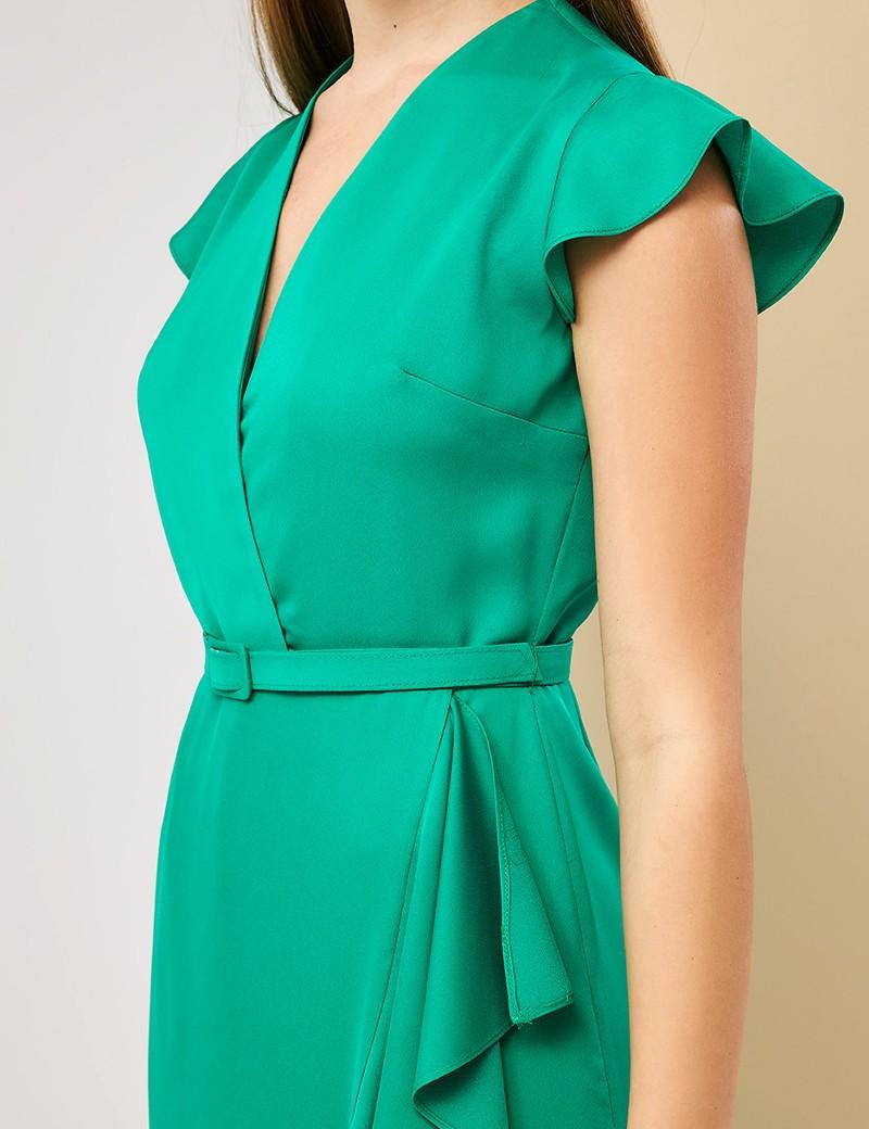 Φόρεμα μάξι με βολάν FOREL