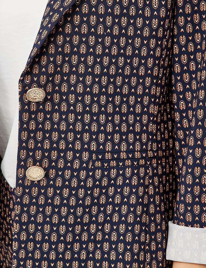 Σακάκι με print FOREL