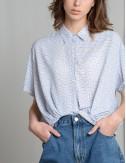 Μπλούζα με γιακά και κουμπάκια