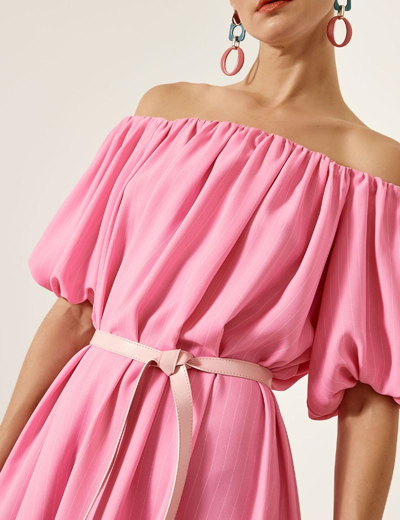 Φόρεμα με ακάλυπτους ώμους ACCESS FASHION