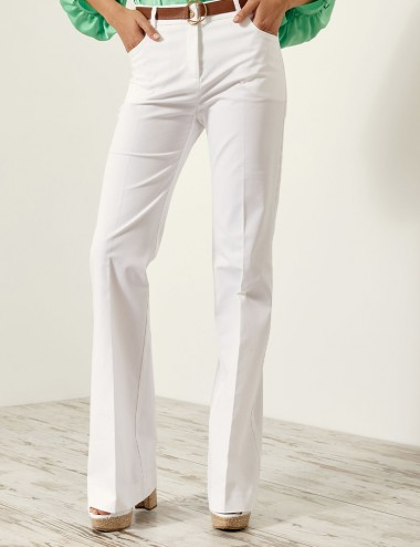 Παντελόνι καμπάνα με τσέπες ACCESS FASHION