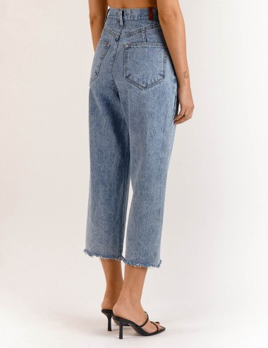 Παντελόνι Lucia Barrel Cropped SALT & PEPPER JEANS Co.