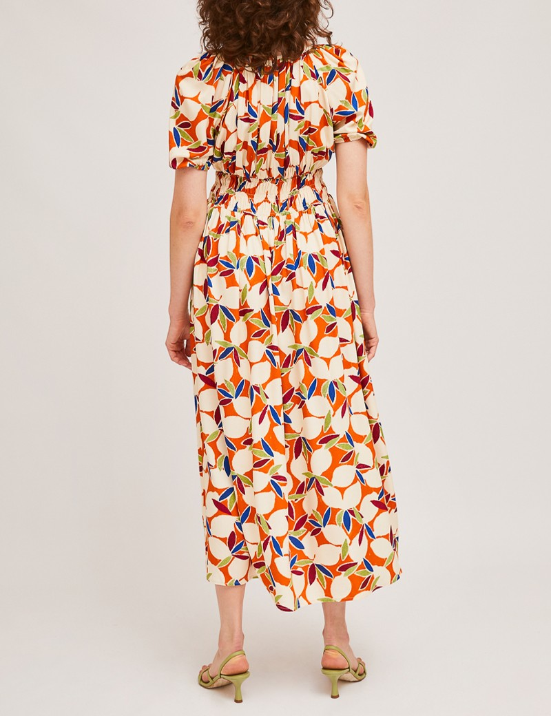 Φόρεμα μίντι με print COMPANIA FANTASTICA