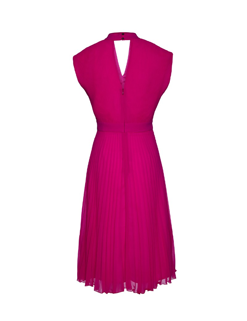 Φόρεμα πλισέ με άνοιγματα ACCESS FASHION