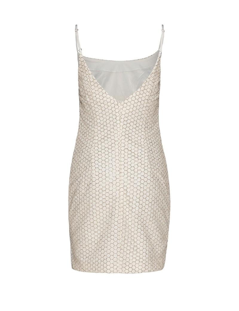 Φόρεμα μίνι γυαλιστερό με τιράντες SPELL by ACCESS FASHION