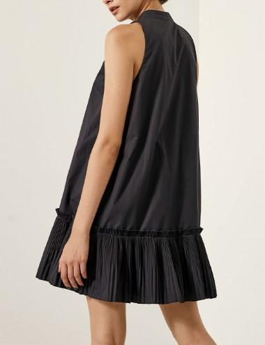 Φόρεμα μίνι με πλισέ τελείωμα SPELL by ACCESS FASHION