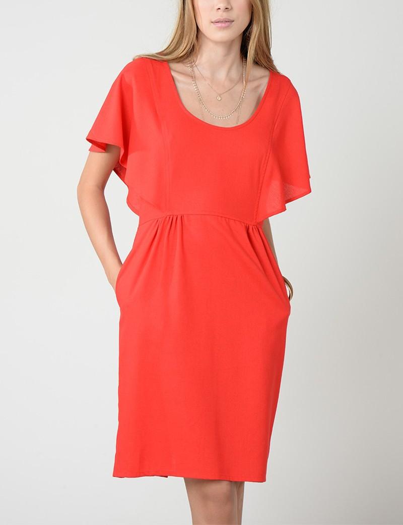 Φόρεμα με κουμπιά πίσω MOLLY BRACKEN