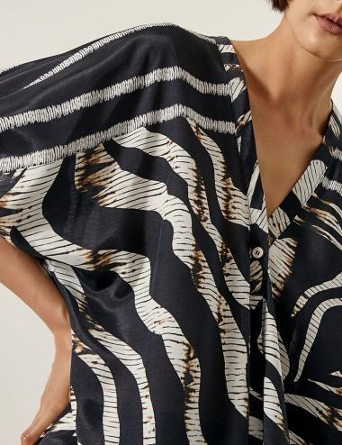 Μπλούζα με ζέβρα print ACCESS FASHION
