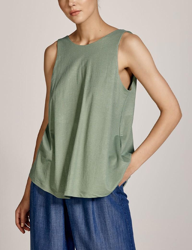 Μπλούζα με λάστιχο στην πλάτη EIGHT by ACCESS FASHION