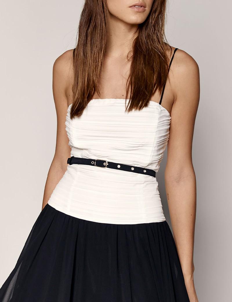 Φόρεμα μάξι με συνδυασμό χρώματος SPELL by ACCESS FASHION