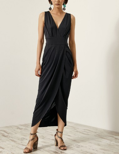 Φόρεμα κρουαζέ με ανοιχτή πλάτη ACCESS FASHION