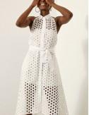 Φόρεμα μπροντερί με ανοιχτή πλάτη ACCESS FASHION