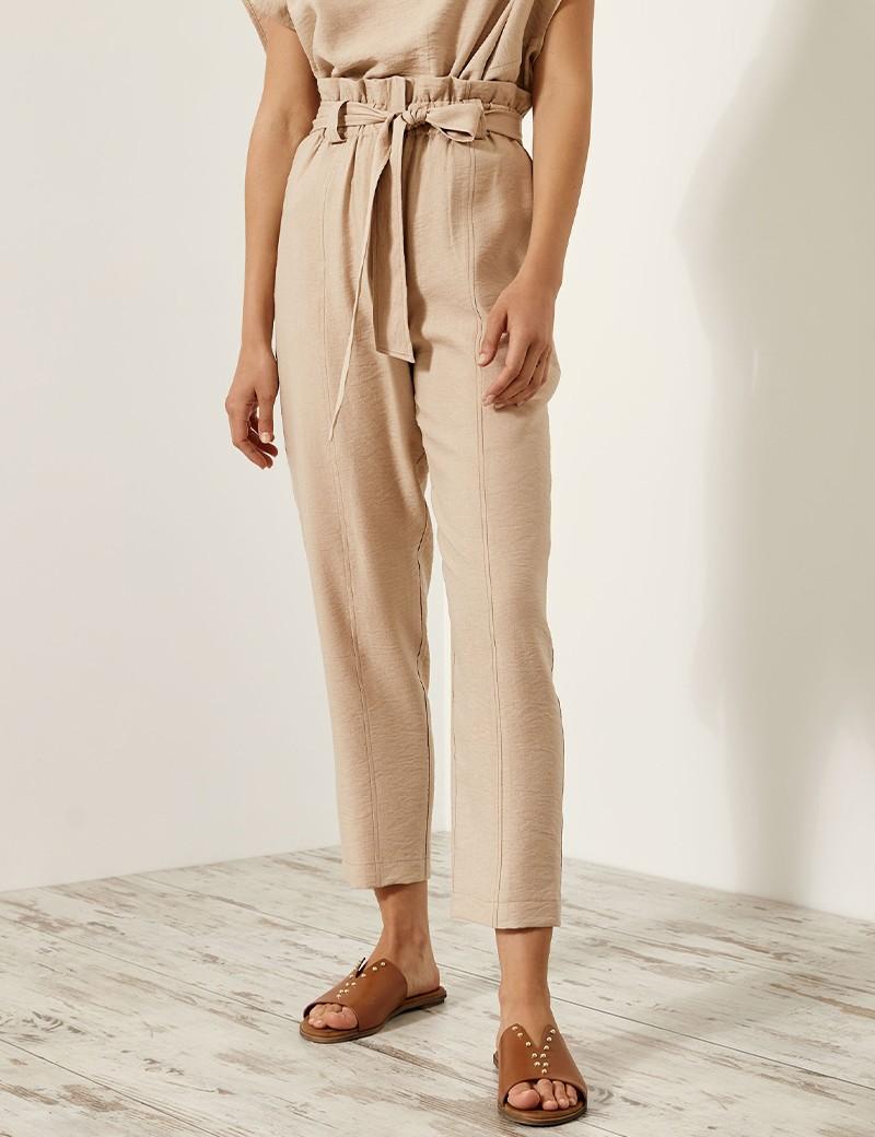 Παντελόνι με τσαλακωτή όψη ACCESS FASHION