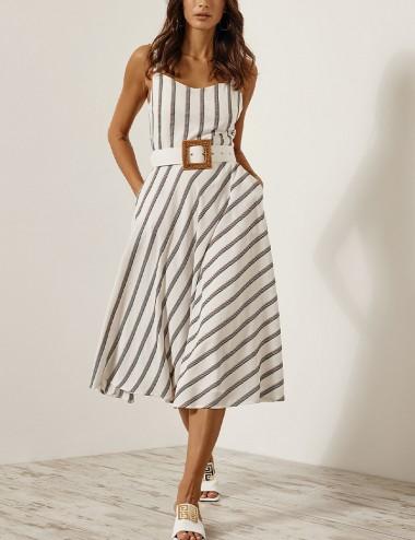 Φόρεμα κλος με ρίγες ACCESS FASHION