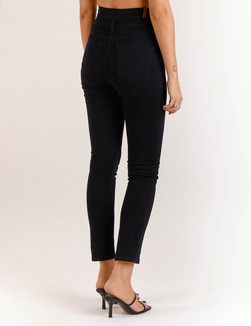 Παντελόνι Kate Black S/W Double SALT & PEPPER JEANS Co.