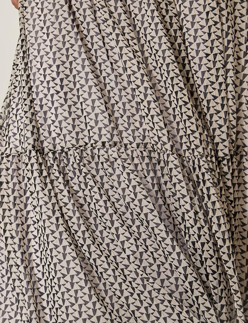 Φούστα μάξι με print SPELL by ACCESS FASHION