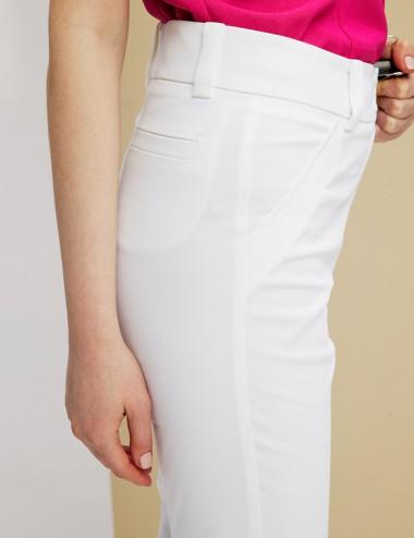 Παντελόνι πικέ από βαμβάκι FOREL
