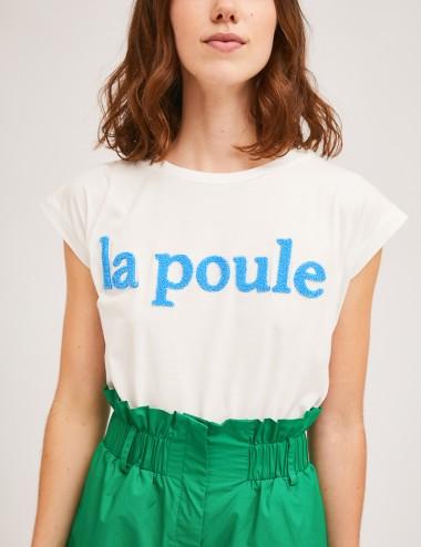 T-Shirt βαμβακερό με στάμπα COMPANIA FANTASTICA