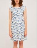 Φόρεμα βαμβακερό αμάνικο με print COMPANIA FANTASTICA