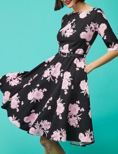 Φόρεμα μίντι κλος φλοράλ FOREL by VASSILIS ZOULIAS