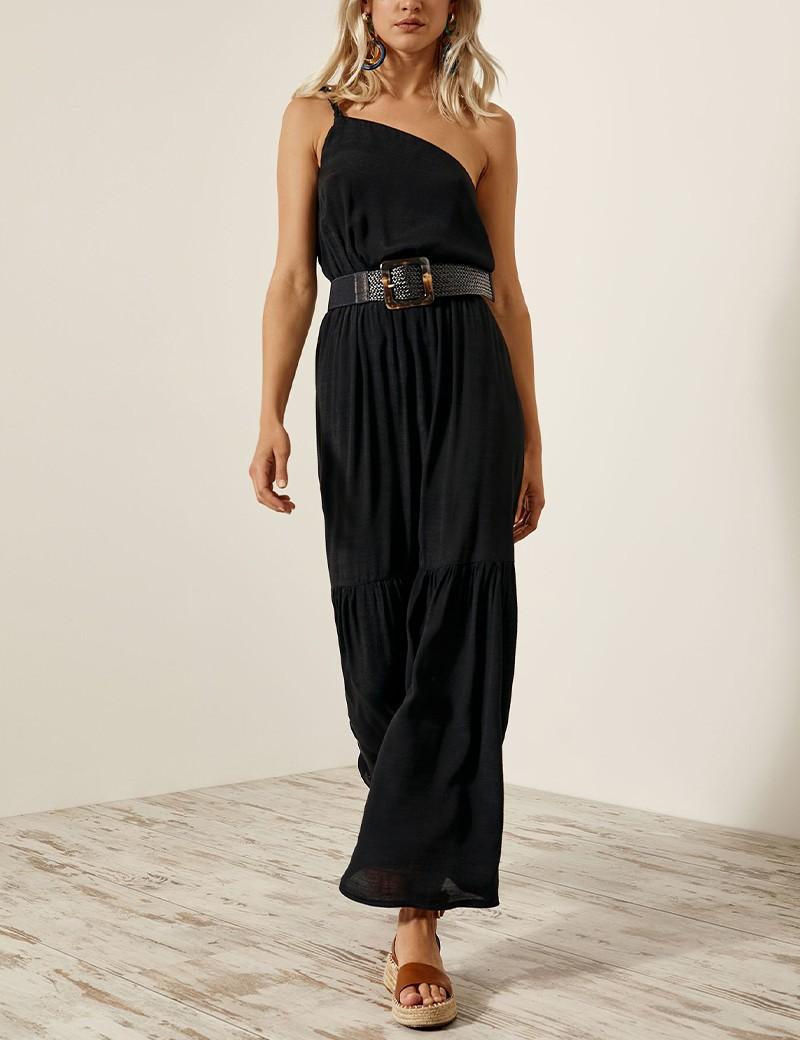 Φόρεμα με πλεξούδα τιράντα ACCESS FASHION
