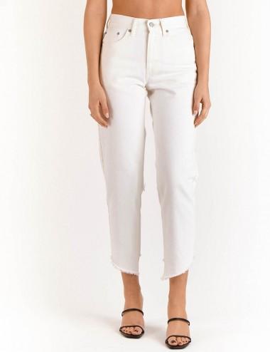 Παντελόνι Barbara Off - White Cropped SALT & PEPPER JEANS Co.