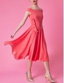 Φόρεμα μίντι με φιόγκο στη μέση FOREL by VASSILIS ZOULIAS