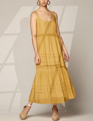 Φόρεμα ριχτό με ραφές SPELL by ACCESS FASHION