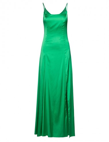 Φόρεμα slip  με σκίσιμο μπροστά ACCESS FASHION