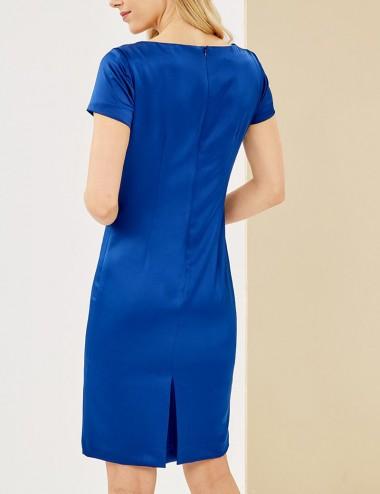 Φόρεμα pencil σατέν FOREL