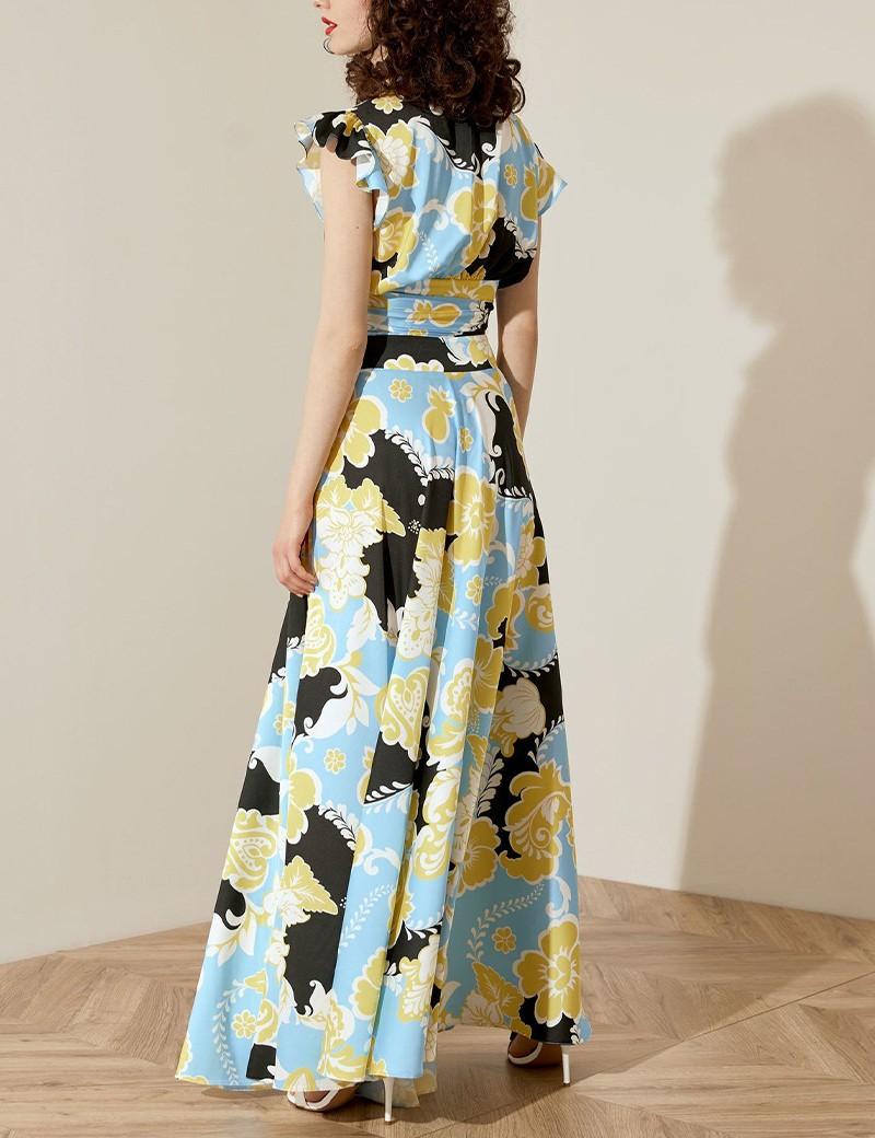 Klos printed skirt ACCESS FASHION