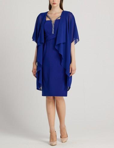 Φόρεμα μίντι με τουνίκ Forel