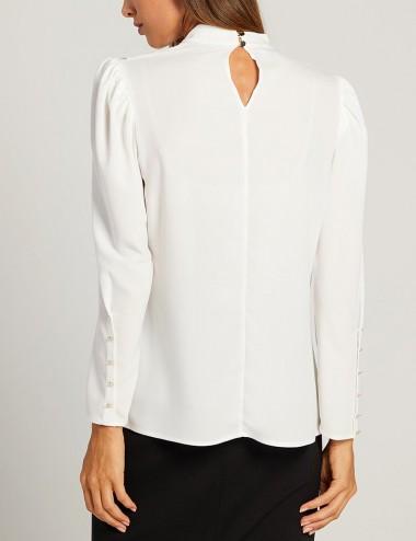 Μπλούζα με κουμπιά στο μανίκι FOREL