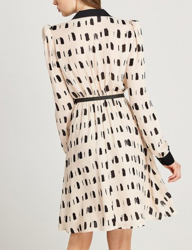 Φόρεμα κρουαζέ με γιακά FOREL