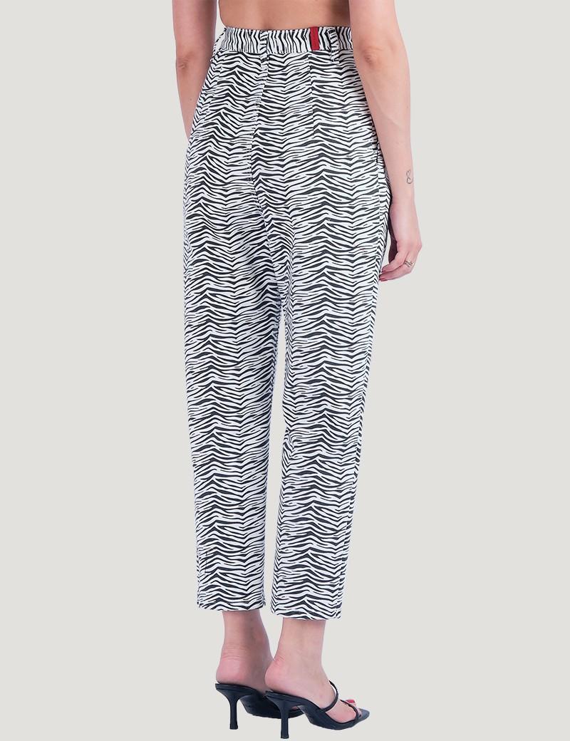 Παντελόνι Marcella Zebra SALT & PEPPER JEANS Co.