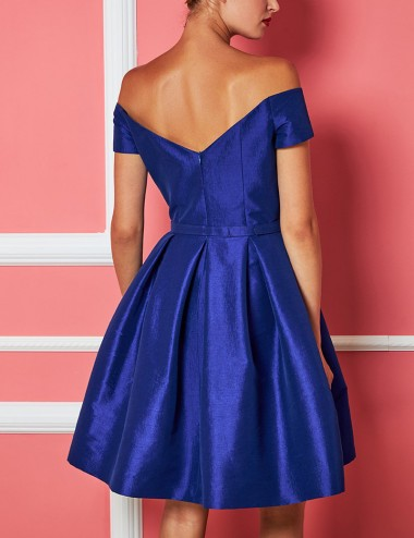 Φόρεμα μίνι με μεγάλο φιόγκο FOREL by VASSILIS ZOULIAS